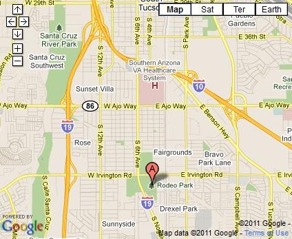 Field Maps Tucson Metro Soccer League